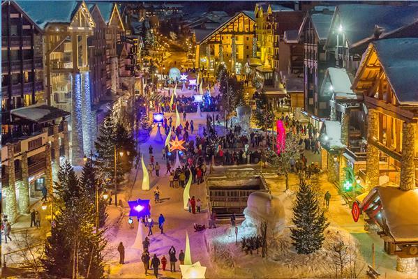 Noël à Val d Isere