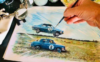 Exposition « La voiture en peinture » de Philippe Cances